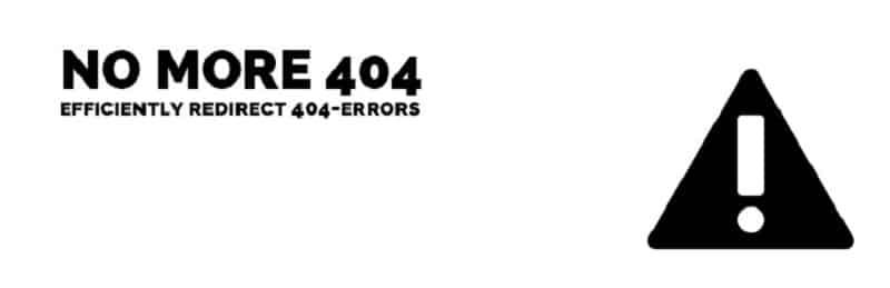 No More 404 wordpress