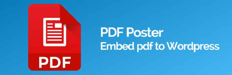 PDF Poster wordpress
