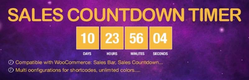 Sales Countdown Timer wordpress